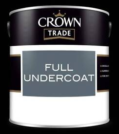Crown Trade Undercoat White NEW
