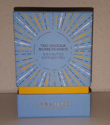 Shea Butter Geschenk-set (L'OCCITANE KARITE Geschenkset Reisegrößen Handcreme Shea Butter NEU)