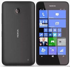 BRAND NEW NOKIA LUMIA 635 BLACK WINDOWS 8  UNLOCKED 8Gb 4G LTE