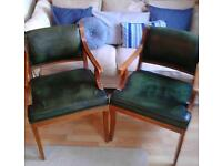 2 X Carver / Club Chairs