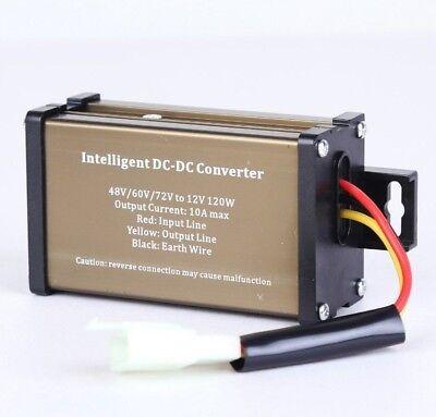 Pro Chaser Dc-dc 48v 60v 72v Converter Regulator Step-down To 12v 120w 10a