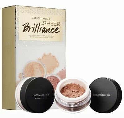 Bare Minerals Sheer Brilliance Illuminating Complexion Duo Radiance Mineral Veil