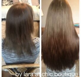 Luxury hair extensions- best quality!