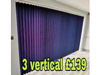 Offer vertical blinds
