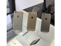 iPHONE 6 64GB, SHOP RECEIPT & WARRANTY, GOOD CONDITION, ALL NETWORKS AVAILABLE
