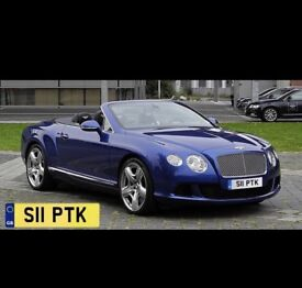 Private Vehicle Registration for Sale