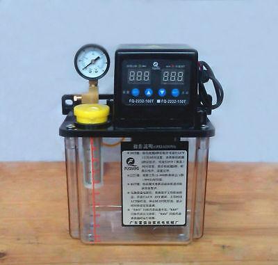 1.5l 110v Dual Digital Display Automatic Electric Lubrication Pump Cnc Oiler