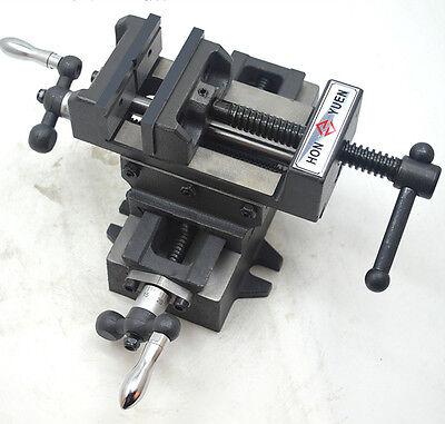 Cross Slide Vise 3 Drill Press X-y 2 Way Clamp Metal Milling Machine Heavy Duty