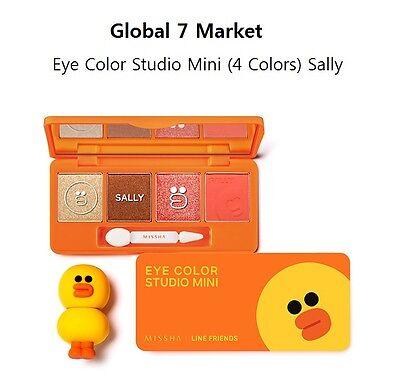 [Limited Edition]Missha X Line Friends Eye Color Studio Mini #3 Sally Daily Look