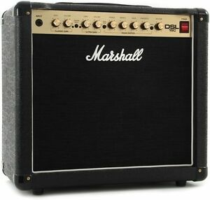 Amplificateur Marshall DSL15C neuf,  full lampes + foot switch