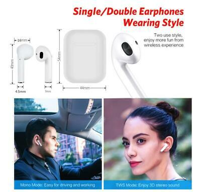 BEST QUALITY Wireless Bluetooth Earbuds Headphone For Apple iPhone Pods (Best Bluetooth Earpiece For Android)