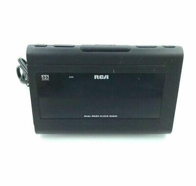 RCA RC141-A Dual Wake LARGE 1.4 DISPLAY Alarm Clock & Digital FM Radio ? 1.Q1