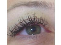 Individual Eyelash Extensions! Classic or Russian Volume