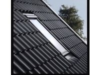 Velux solar powered remote control roof window