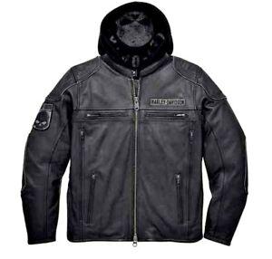 Jacket Harley Davidson Auroral 3 dans 1 en cuir , X-Large