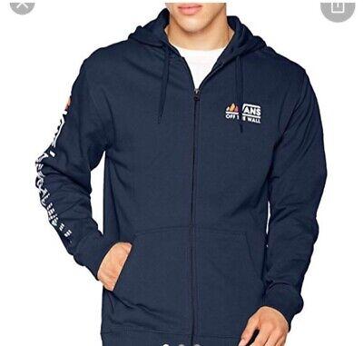 Navy blue VANS zip up medium hoodie