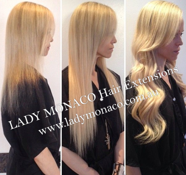 Micro Weft Hair Extensions Full Head 399 Lady Monaco Sale Other