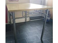 Dinning table. No chairs.