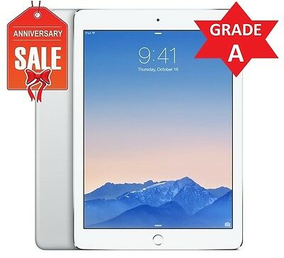 Apple iPad Air 1st Generation 16GB, Wi-Fi, 9.7in - Silver - Grade A Conditio (R)