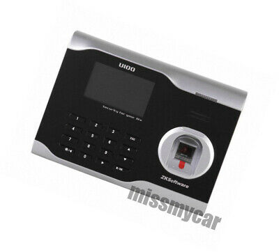 Zksoftware Fingerprint Attendance Time Clock Tcpip Usb Management Software