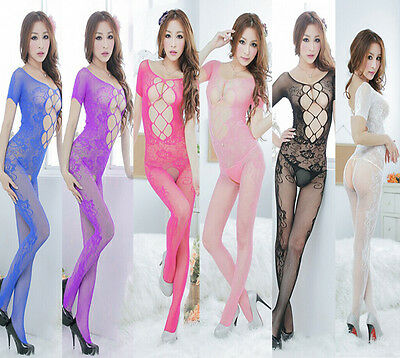 Women Net Lingerie Sexy Body Stocking Temptation Underwear Racy Sleepwear Hot