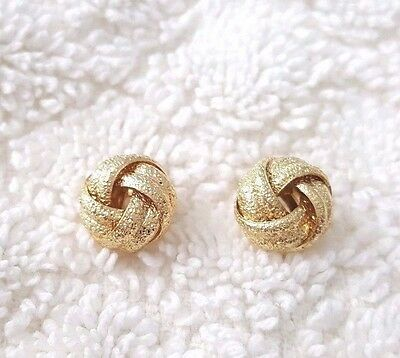 10mm Small Love Knot Post Stud Earrings # 8