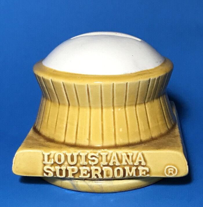 Louisiana Superdome New Orleans Rare Vintage Souvenir Bank