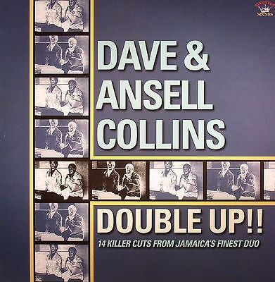 DAVE & ANSELL COLLINS - Double Up!!  NEW VINYL LP £10.99