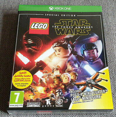 Microsoft Xbox One Lego Star Wars The Force Awakens Special Edition inc Minifig