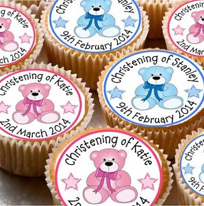 Personalised Christening Cake Toppers Uk