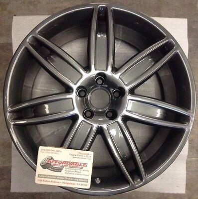 Maserati Quattroporte Mercurio 20032 97462 OEM wheel rim 20 x 8.5 Charcoal