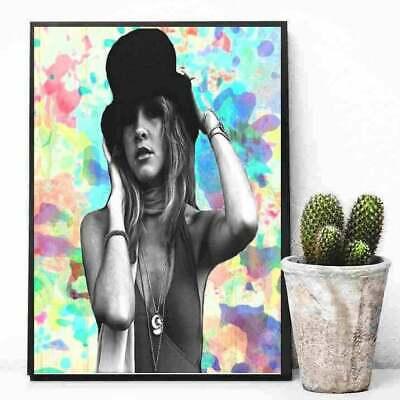 Bohemian Stevie Nicks Wall Art Fleetwood Mac Fan Gift