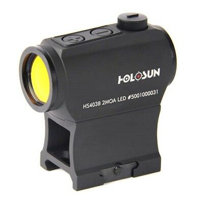 HOLOSUN Micro Red Dot Sight (2 MOA) with Riser HS403B