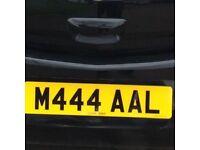 Cherished registration plate