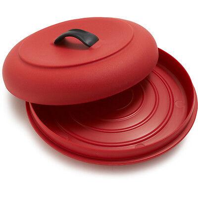 Tortilla Wärmer (Dexas Microwaveable X-Large Tortilla Warmer / Steamer - Red)