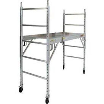 New Aluminum Maxi Drywall Baker Scaffold 74l X 29-12w X 75h