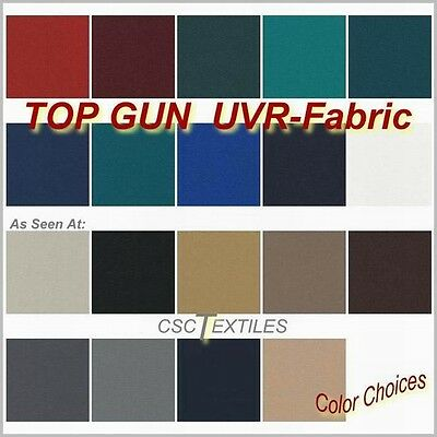 """""""TOP GUN FABRIC 62""""w ROLL x FIFTY-Yards/L UVR Roll for Boats-Awning-Shade-Covers"""
