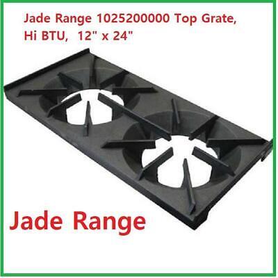 Jade Range 1025200000 2 Burner Top Grate Hi Btu 12 X 24 Jsr New
