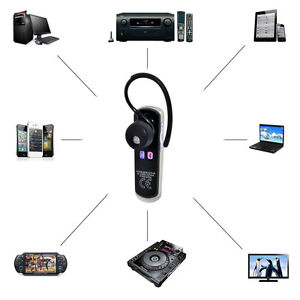 Wireless Bluetooth4.0 +EDR Stereo Earphone w/Mic for Cell Phone Laptop PC Tablet