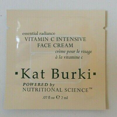 Kat Burki Vitamin C Intensive Face Cream 2ml Sample Brand New Sealed