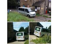 Ford Transit 04 plate 280swb Minibus Clearence Price Spares or repairs only £495 o.n.o