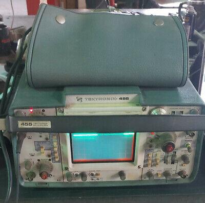 Tektronix 455 Oscilloscope Used Test Equipmentn Multi Meter
