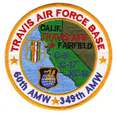 TRAVIS AIR FORCE BASE, CALIFORNIA, 60TH AMW, 349TH AMW      Y