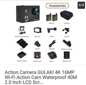 4k action camera for sale