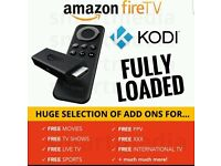 AMAZON FIRESTICK! NO MORE HUGE BILLS! Fully loaded. All movies + Kids TV + Sport (PPV) + XXX