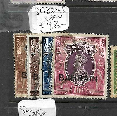 BAHRAIN  (PP0504B)  ON INDIA KGVI  1R-10R  SG 32-5   VFU