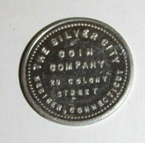 Vintage The Silver City Coin Company Meriden, CT 5c Trade Token - Connecticut