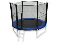 10FT-TL-103 We R Sports Trampoline With Safety Net Enclosure Ladder Rain Cover 10ft