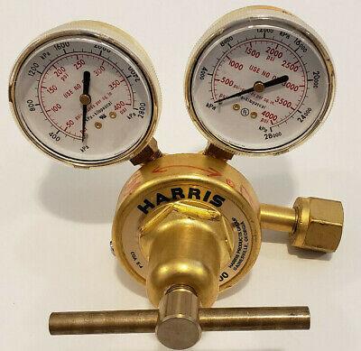 0-125 PSIG Harris 425-125A-350 Pressure Regulator Brass