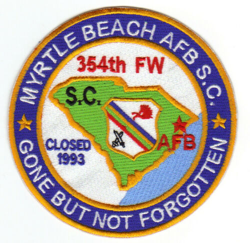 MYRTLE BEACH AFB, SOUTH CAROLINA, 354TH FW, CLOSED 1993       Y
